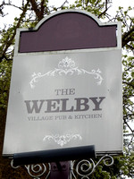 Denton - The Welby sign