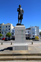 Portsmouth - Horatio Nelson statue