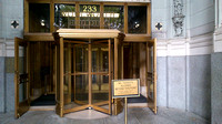 14 entrance to the Woolworth Building